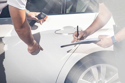 Lackierung-Messgerät-Autobewertung